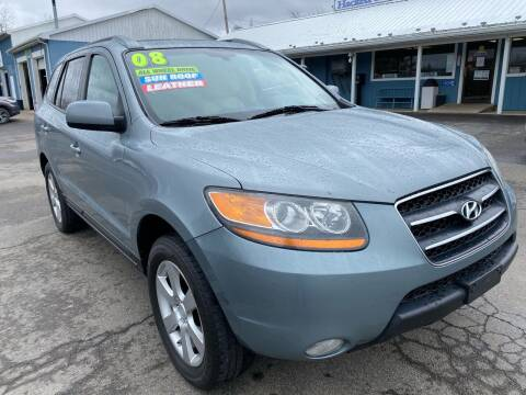 2008 Hyundai Santa Fe for sale at HACKETT & SONS LLC in Nelson PA