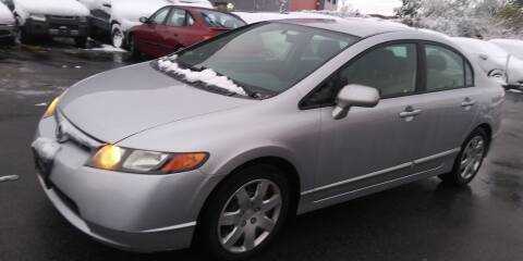 2007 Honda Civic for sale at JG Motors in Worcester MA