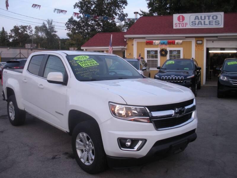 2018 Chevrolet Colorado for sale at One Stop Auto Sales in North Attleboro MA