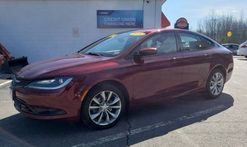 2016 Chrysler 200 for sale at Healey Auto in Rochester NH