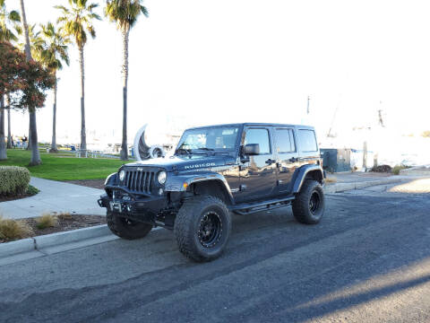 2017 Jeep Wrangler Unlimited for sale at Imports Auto Sales & Service in Alameda CA