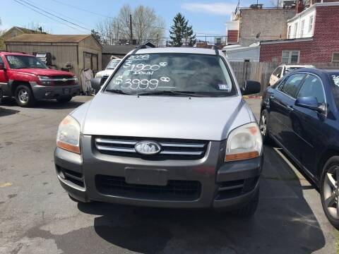 2008 Kia Sportage for sale at Chambers Auto Sales LLC in Trenton NJ