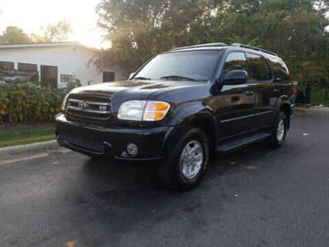 2002 Toyota Sequoia for sale at TR MOTORS in Gastonia NC