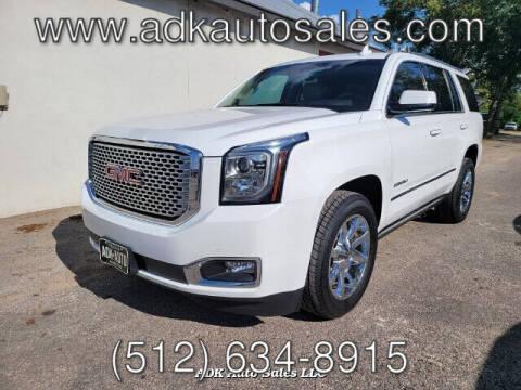 2016 GMC Yukon for sale at ADK AUTO SALES LLC in Austin TX