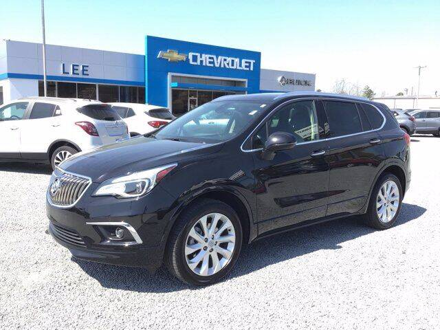2017 Buick Envision for sale at LEE CHEVROLET PONTIAC BUICK in Washington NC