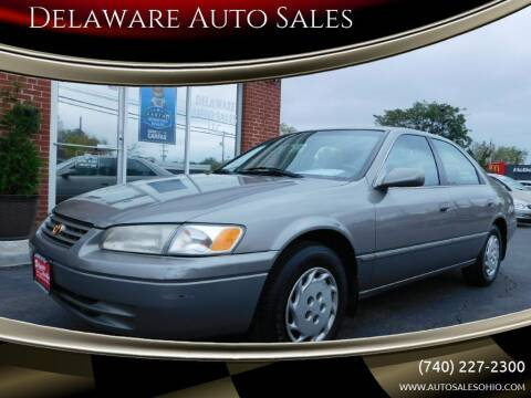 1999 Toyota Camry for sale at Delaware Auto Sales in Delaware OH