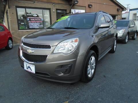 2011 Chevrolet Equinox for sale at IBARRA MOTORS INC in Cicero IL