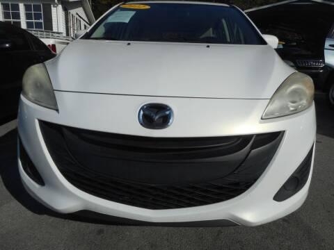2012 Mazda MAZDA5 for sale at Elite Motors in Knoxville TN