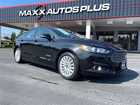 2015 Ford Fusion Hybrid for sale at Maxx Autos Plus in Puyallup WA