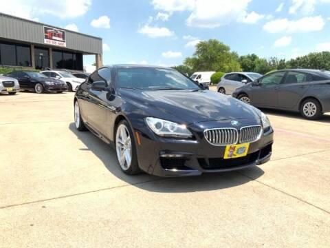 2013 BMW 6 Series for sale at KIAN MOTORS INC in Plano TX