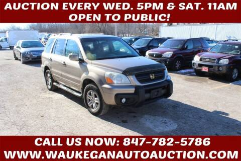 2003 Honda Pilot for sale at Waukegan Auto Auction in Waukegan IL