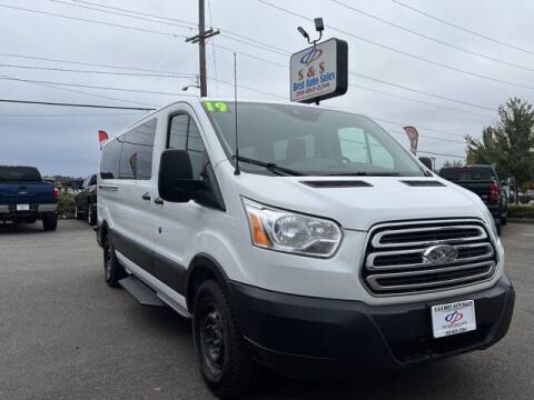 2019 Ford Transit Passenger for sale at S&S Best Auto Sales LLC in Auburn WA