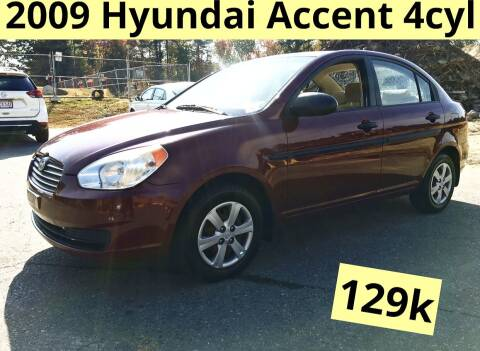 2009 Hyundai Accent for sale at Twin Motor Sport in Worcester MA