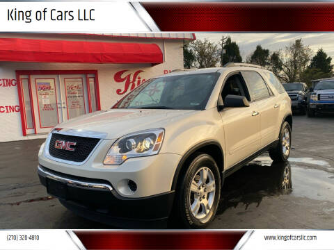 2011 GMC Acadia for sale at King of Cars LLC in Bowling Green KY