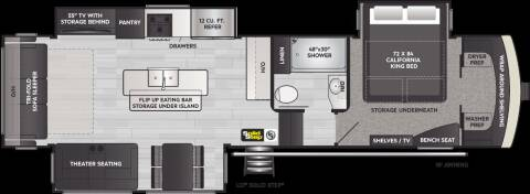2021 Keystone Arcadia for sale at Dependable RV in Anchorage AK