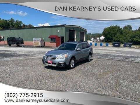 2013 Subaru Outback for sale at DAN KEARNEY'S USED CARS in Center Rutland VT