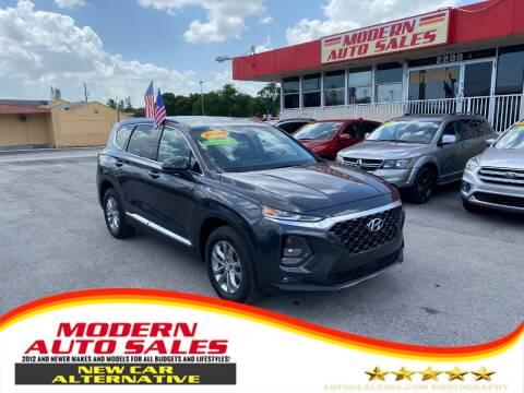 2020 Hyundai Santa Fe for sale at Modern Auto Sales in Hollywood FL