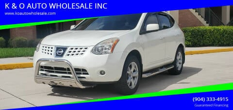 2008 Nissan Rogue for sale at K & O AUTO WHOLESALE INC in Jacksonville FL