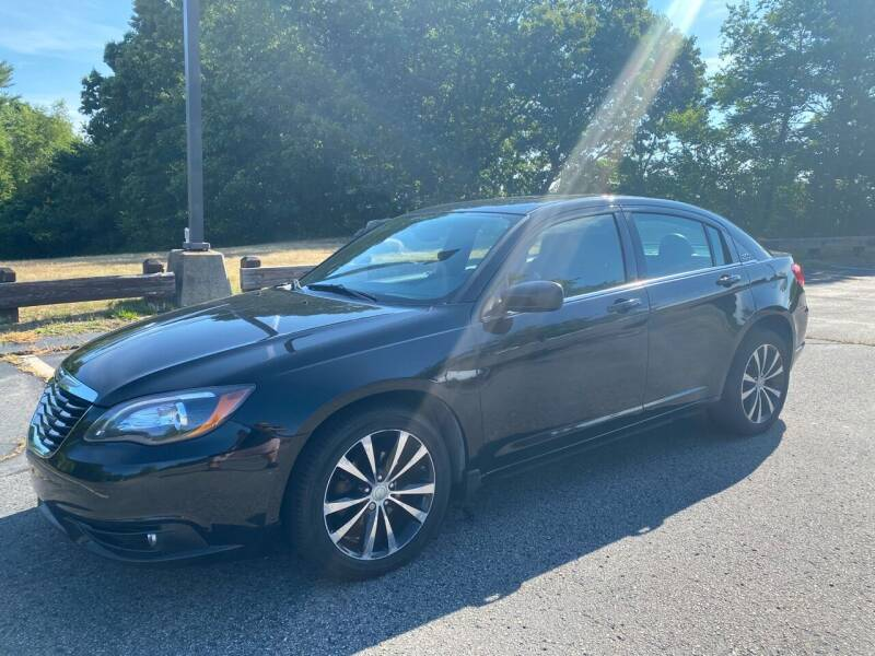 2013 Chrysler 200 for sale at Padula Auto Sales in Braintree MA