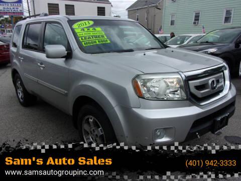 2011 Honda Pilot for sale at Sam's Auto Sales in Cranston RI