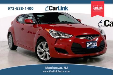 2016 Hyundai Veloster for sale at CarLink in Morristown NJ