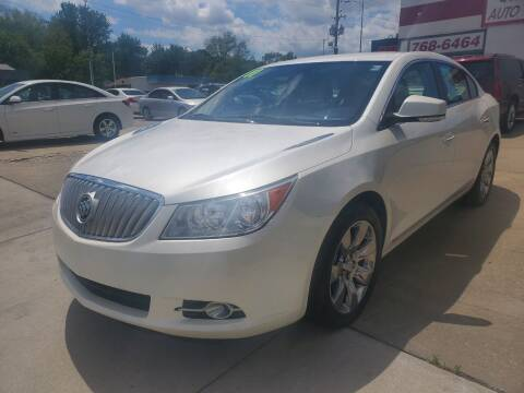 2011 Buick LaCrosse for sale at Quallys Auto Sales in Olathe KS