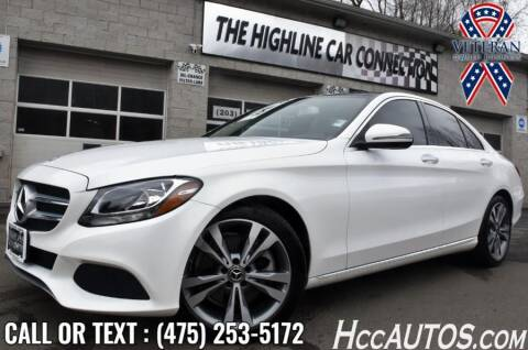 2018 Mercedes-Benz C-Class for sale at The Highline Car Connection in Waterbury CT