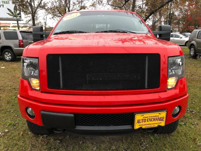 2011 Ford F-150 for sale at East Carolina Auto Exchange in Greenville NC