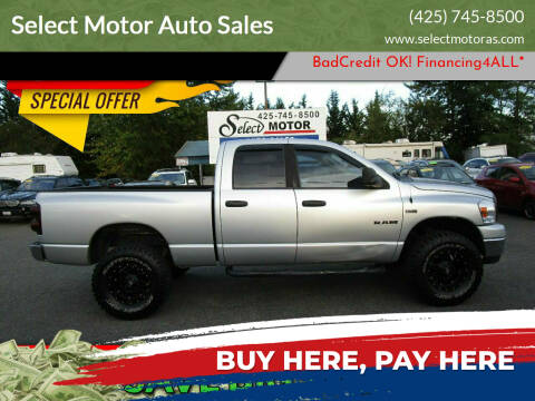 2008 Dodge Ram Pickup 1500 for sale at Select Motor Auto Sales in Lynnwood WA