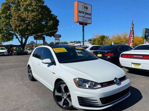 2016 Volkswagen Golf GTI for sale at TDI AUTO SALES in Boise ID