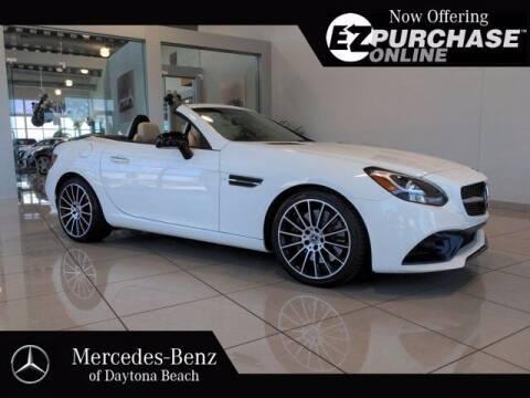 2019 Mercedes-Benz SLC for sale at Mercedes-Benz of Daytona Beach in Daytona Beach FL