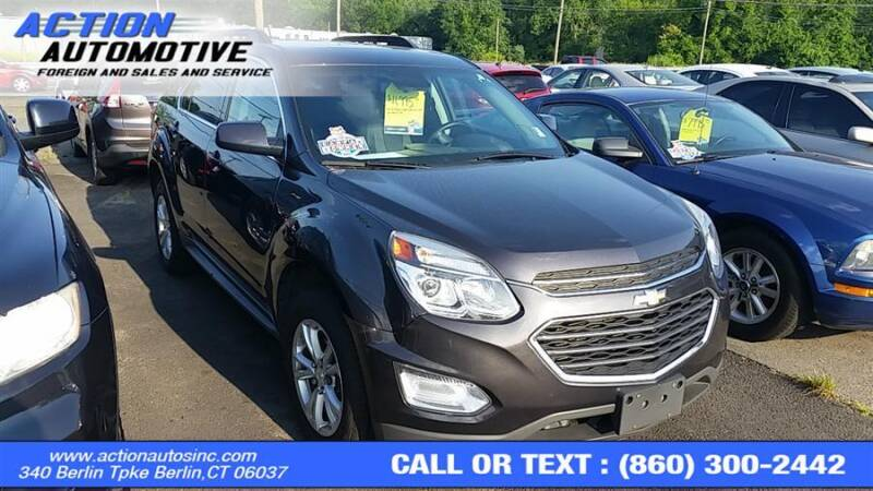 2016 Chevrolet Equinox for sale at Action Automotive Inc in Berlin CT