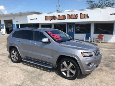 2014 Jeep Grand Cherokee for sale at Moye's Auto Sales Inc. in Leesburg FL