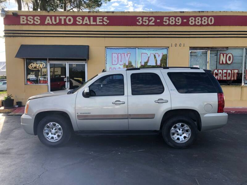 2007 GMC Yukon for sale at BSS AUTO SALES INC in Eustis FL