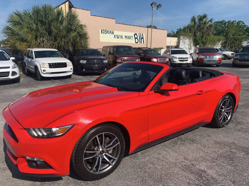 2017 Ford Mustang for sale at Castle Used Cars in Jacksonville FL