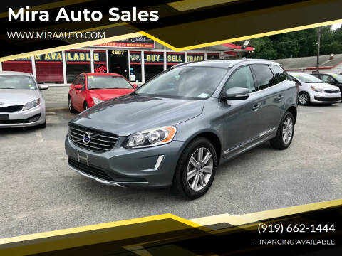 2017 Volvo XC60 for sale at Mira Auto Sales in Raleigh NC