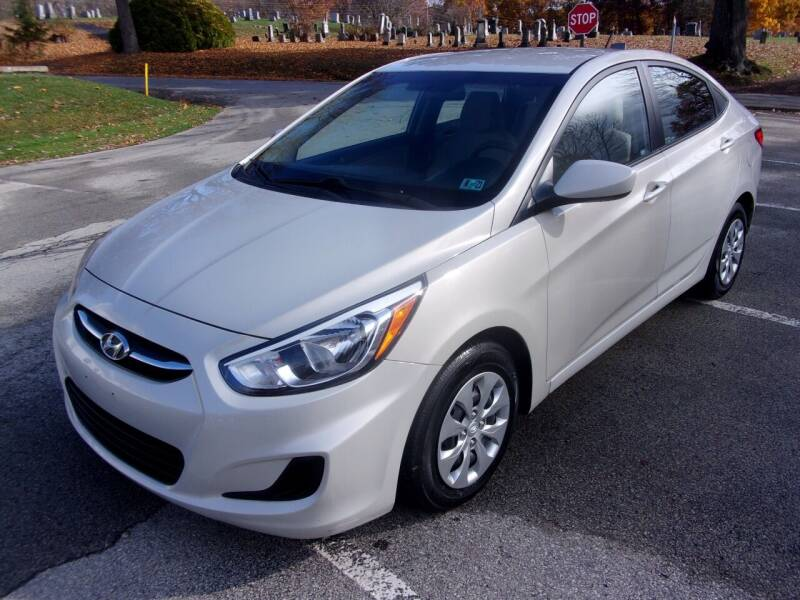 2016 Hyundai Accent for sale at Pyles Auto Sales in Kittanning PA