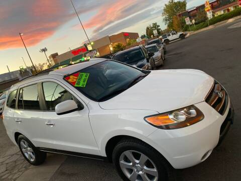 2007 Hyundai Santa Fe for sale at Sanaa Auto Sales LLC in Denver CO