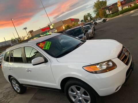 2007 Hyundai Santa Fe for sale at Sanaa Auto Sales LLC in Denver CO