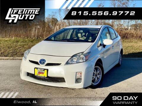 2010 Toyota Prius for sale at Lifetime Auto in Elwood IL
