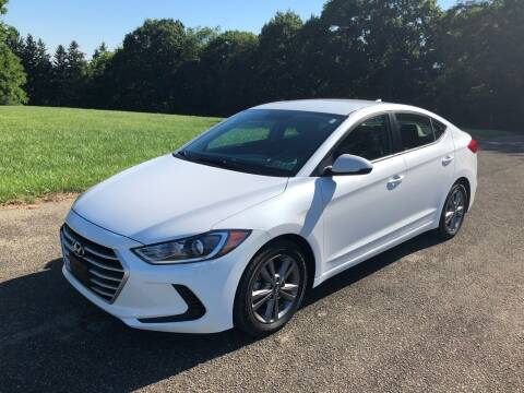 2017 Hyundai Elantra for sale at Hutchys Auto Sales & Service in Loyalhanna PA