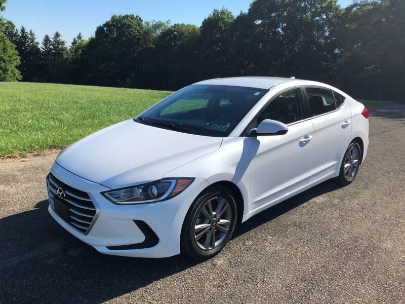 2017 Hyundai Elantra for sale at Hutchys Auto Sales & Service in Loyalhanna PA