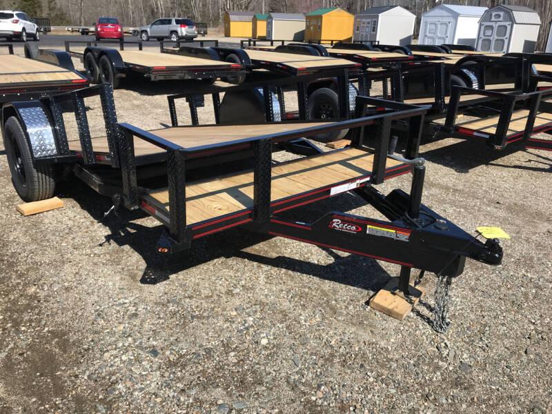 2021 Rettig 6x12SplitTiltn for sale at Greg's Auto Sales in Searsport ME
