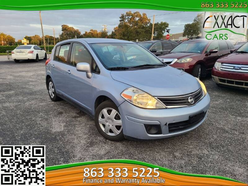 2012 Nissan Versa for sale at Exxact Cars in Lakeland FL