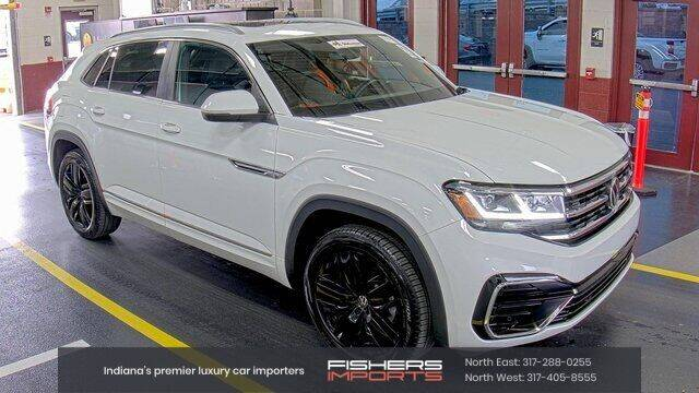 2020 Volkswagen Atlas Cross Sport for sale at Fishers Imports in Fishers IN