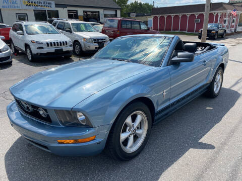 2007 Ford Mustang for sale at Real Deal Auto Sales in Manchester NH