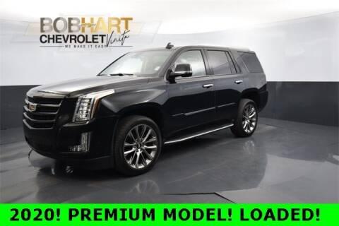 2020 Cadillac Escalade for sale at BOB HART CHEVROLET in Vinita OK