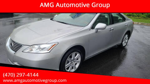 2007 Lexus ES 350 for sale at AMG Automotive Group in Cumming GA