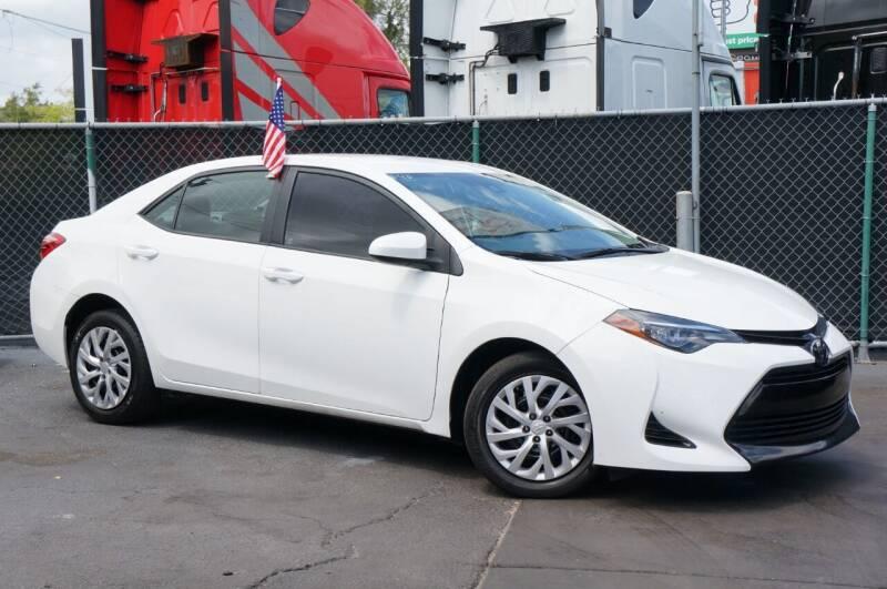 2019 Toyota Corolla for sale at MATRIX AUTO SALES INC in Miami FL