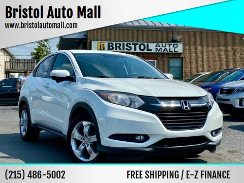 2016 Honda HR-V for sale at Bristol Auto Mall in Levittown PA